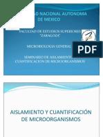 Recuento y Cuantificacion de Microorganismos