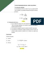 Procedimiento de Estandarización de Ácido Sulfúrico