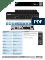 Megasat Hd 5000 Dc Produktblatt