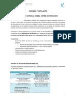 Guía Del Postulante Convocatoria UNAC
