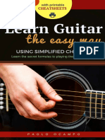 Learn Guitar the Easy Way_ The easy way to play guitar using simplified chords - Paolo Ocampo.pdf