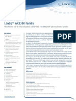 Lantiq XWAY ARX300 Product Brief 02 May 14