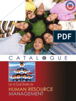 HRM Case Studies Catalogues