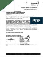 Informacion de Pendientes Para Acuerdos