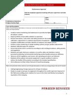 Performance Appraisal for Employee v.4