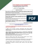 A. SEZER - Bireysel başvuru hk. AYM'nin 15 Eylül 2010 tarihli duyurusu üzerine