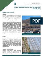 CH RF US Logan Walmart Rockfall Mitigation WV
