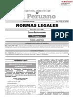 RESOLUCION SUPREMA N° 129-2018-PCM