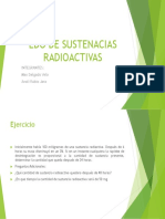 Edo de Sustenacias Radioactivas