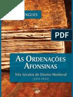 Ordenações Afonsinas-Três Séculos de Direito Medieval