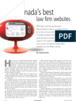 Canada's Best Law Firm Websites