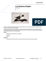 POYNTING-ADPT-026 modem to antenna