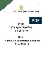 05 03 2018 BEd BEd SE.information Brocher