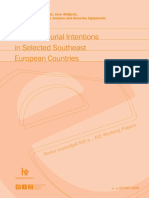 Entrepreneurial Intentions in Selected Southeast European Countries