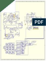 Полуавтомат КЕНДЕ ZD7-200M Electric Scheme