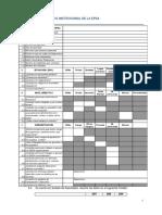 Intrumento 16 Modelo de Diagnóstico Institucional de La EPSA