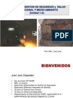 1. Gestión de Seguridad y Salud Ocupacional- (Unidad 1-A)