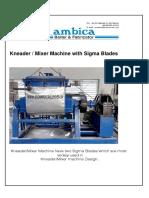 Sigma Mixer - Design & Operation