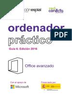 Ordenador Práctico 6-Microsoft Office Avanzado