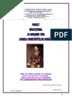 proiect 24 Ianuarie