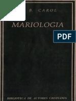 CAROL, J. B. -Mariología