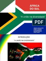 Africa do sul slides