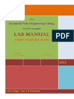 Ec Es Lab Manual