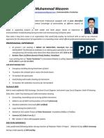 M. Waseem(Instrumentation Technician)