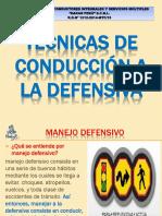 MANEJO A LA DEFENSIVA  2014.ppt
