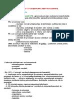 Promovarea Sanatatii Si Educatia Pentru Sanatate (1)