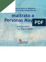 Guía Para La Detección y Actuación Ante Situaciones de Maltrato a Personas Mayores