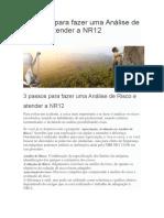 3 passos para fazer uma Análise de Risco e atender a NR12.docx