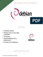 Distribucion Linux Debian