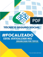 Edital Verticalizado INSS-TECNICO SEGURO SOCIAL NivelMedio FocusConcursos