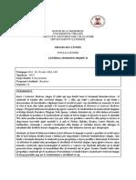 Prog-Let Mod. Shqipe, P. Asllani, - II,Bachelor