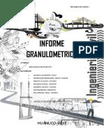 INFORME GRANULOMETRICO