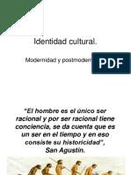 Identidad Cultural Y POSTMODERNIDAD