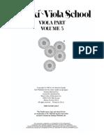 VIOLA - MÉTODO - SUZUKI - Volume 5.pdf