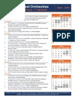 OE Orchestra Calendar 2018-2019
