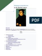 Antisemitismo de Martín Lutero