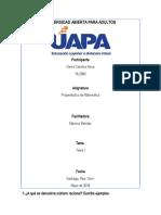 Propedeutico de Matematica, Dania, Tema I
