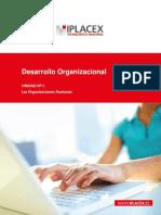 Desarrollo Organizacional Las Organizaciones Humanas