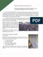 Informe de la APDHLP sobre piquetes de la huelga de hambre de la UPEA
