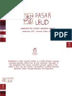 PASAR UBUD Anomali Coffee 2017