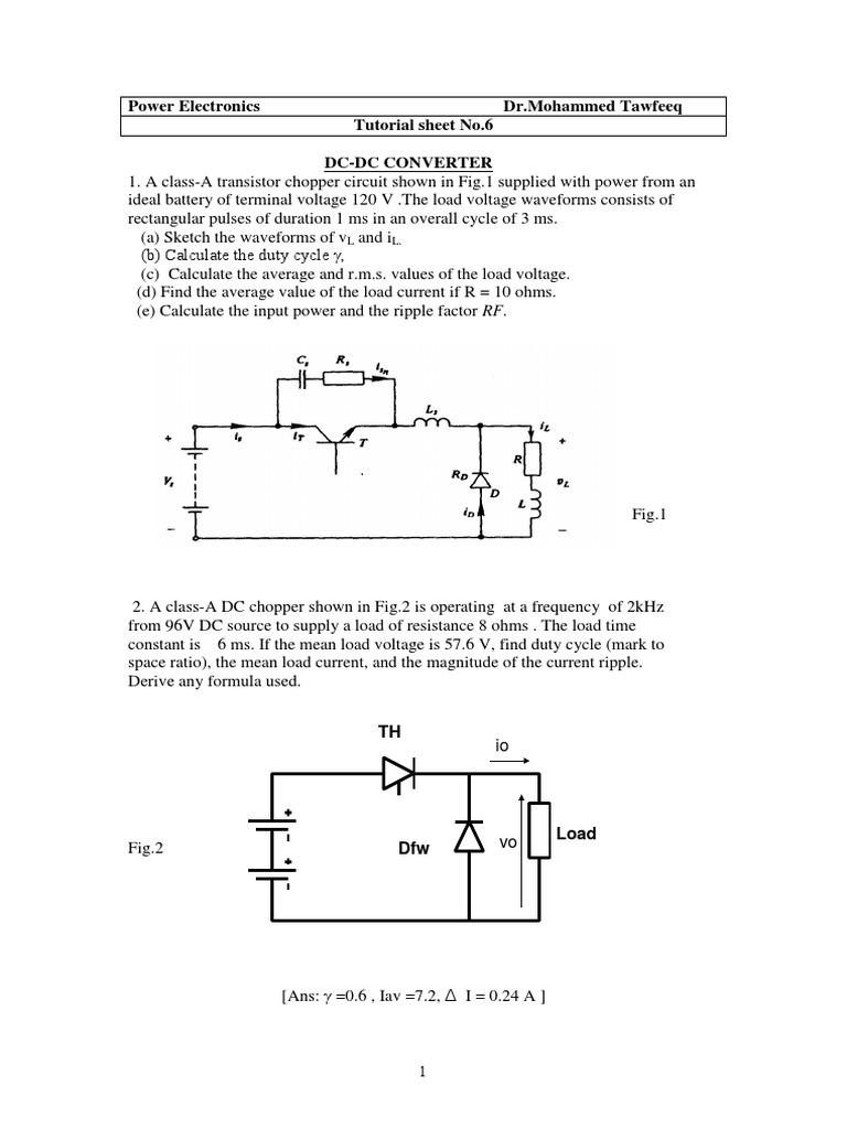 Pe Tutorial 6pdf Electrical Engineering Electromagnetism Electric Circuit Design Mcqs