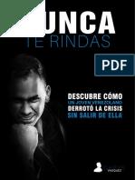 Libro - Nunca Te Rindas Chrys Vasquez