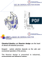 Unit 1 Reactors Design