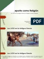 El Deporte Como Religión