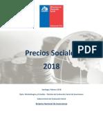 Precios Sociales Vigentes 2018