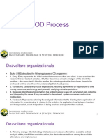 steps involved in organizational development